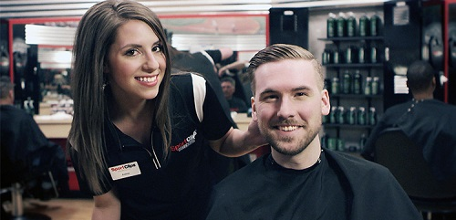 Sport Clips Haircuts of Olive Branch at Camp Creek​ stylist hair cut